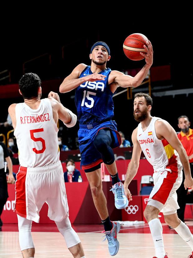 Basket: L'Espagne échoue de nouveau face à la Team USA