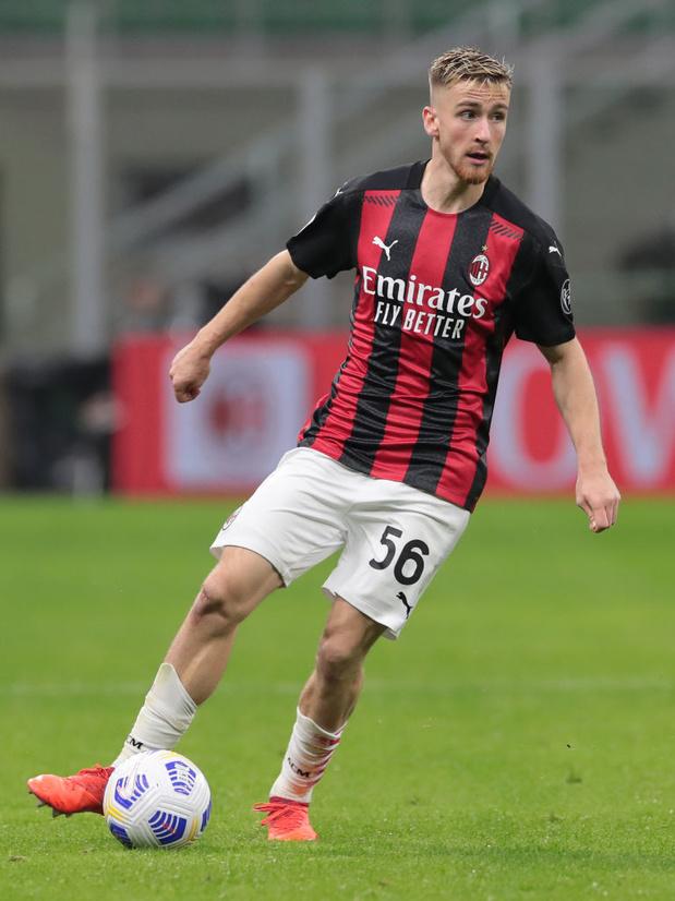 Le premier but de la saison d'Alexis Saelemaekers avec l'AC Milan (vidéo)