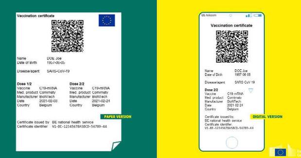 Zeven lidstaten geven al covid-certificaten af