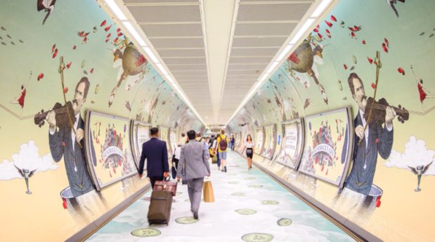 Londense metro geurt al hele zomer naar gin