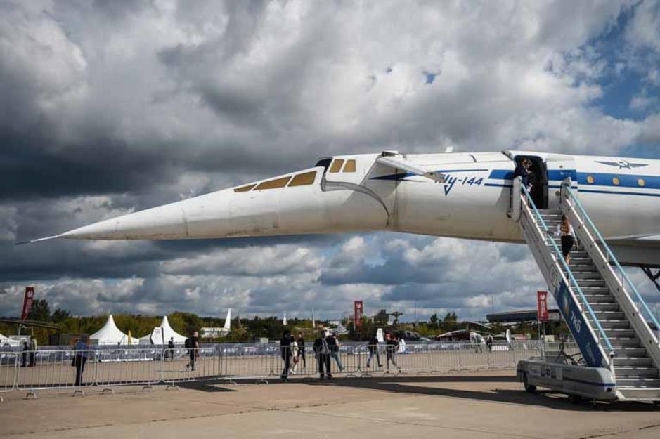 A Moscou, l'industrie aéronautique russe parade pour conjurer la morosité (en images)