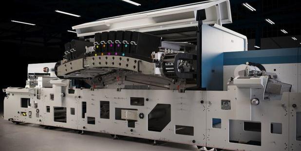 Domino a dévoilé la N730i, presse couleur numérique à étiquettes de Génération 7