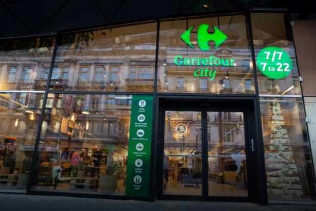 Biologisch in een ecologische setting: Carrefour test groene stadswinkel