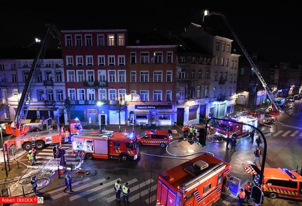 Une centaine de personnes évacuées à Bruxelles pour un incendie maitrisé