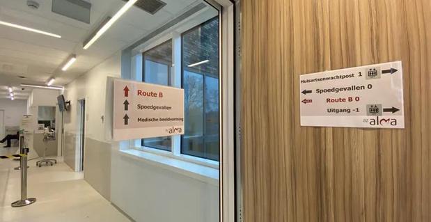 Aparte wachtzaal voor mogelijke Covid-19-patiënten