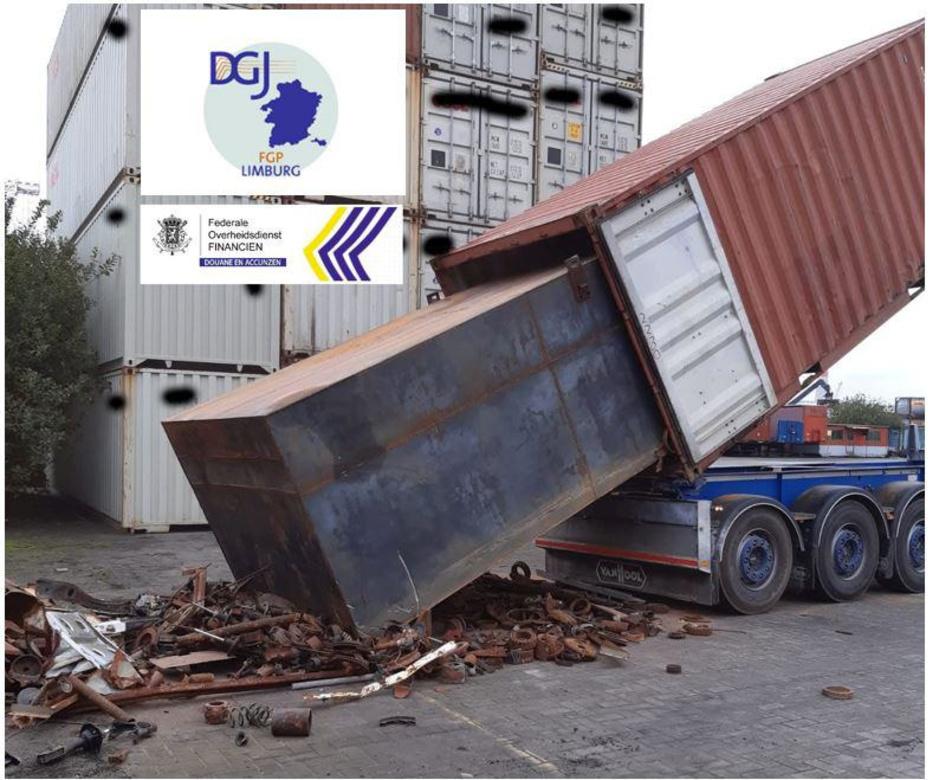 Douane controleerde dit jaar al 366 containers op drugs in Zeebrugge
