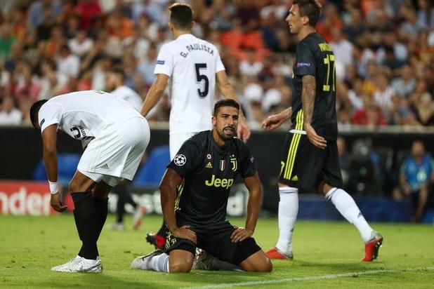 Sami Khedira a été opéré du genou
