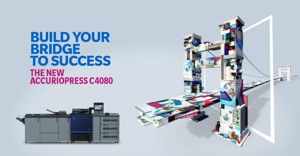 Nieuwe AccurioPress C4080 Serie: bouw uw brug naar succes!