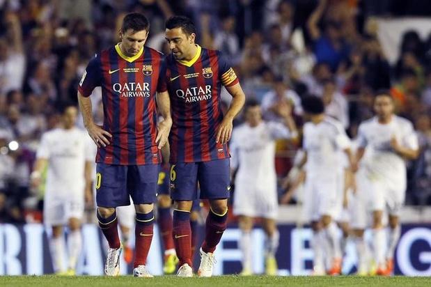 Messi rend hommage à Xavi, futur retraité