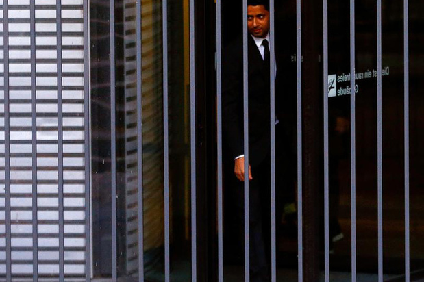 """Nasser Al-Khelaïfi, mis en examen pour """"corruption active"""""""