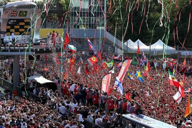 Le Grand Prix de Monza sera cinq ans de plus au calendrier de F1