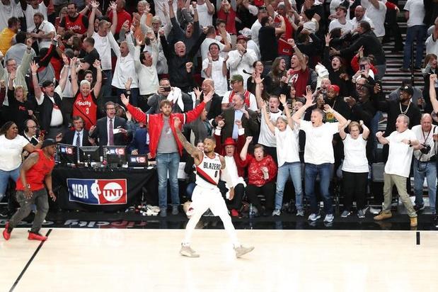Un shoot de légende envoie Portland en demi-finales des playoffs (vidéo)