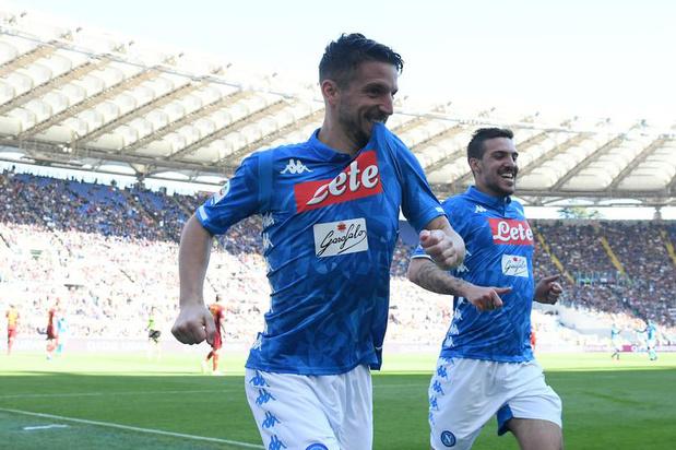 Dries Mertens annonce qu'il reste à Naples