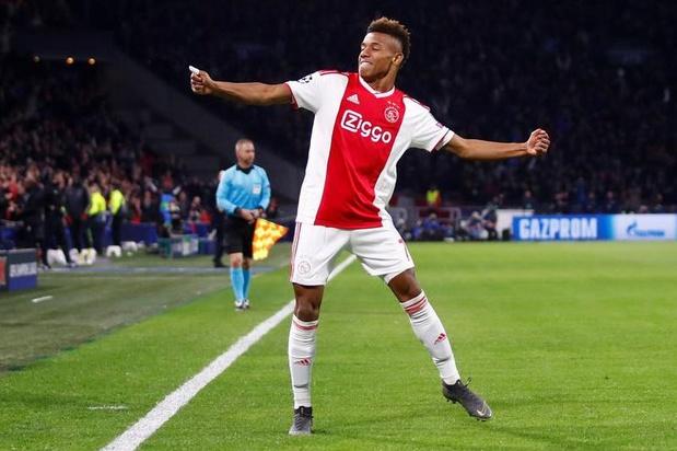 "David Neres, ""samba king"" de l'Ajax"