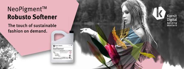 L'adoucissant Kornit élimine les problèmes de toucher pour le secteur de la mode