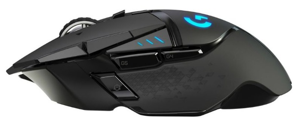 Draadloze muis voor intensief gamen