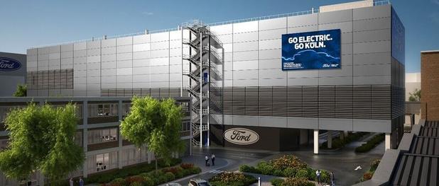 """Ford va créer un """"Electrification Center"""" à Cologne"""