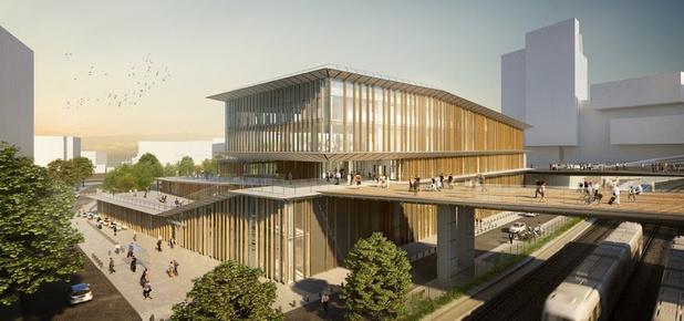 Besix en Stromae werken mee aan bouw Frans station