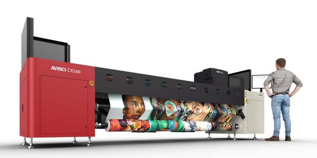 Agfa présente la nouvelle imprimante Avinci CX3200