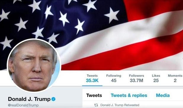 Twitter plaatst voor het eerst factcheck bij tweet Donald Trump