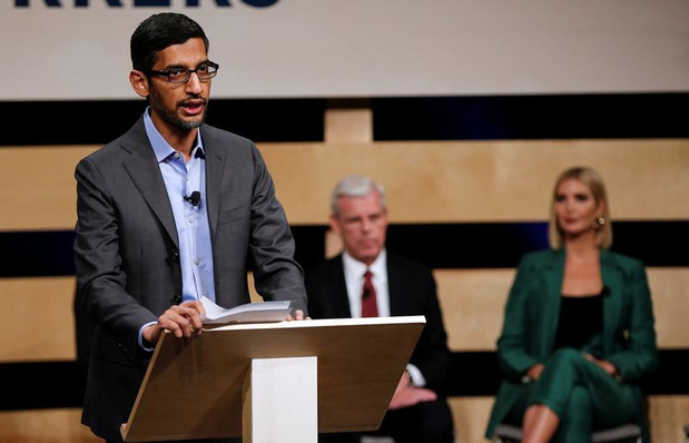 Sundar Pichai prend seul les rênes de Google et d'Alphabet