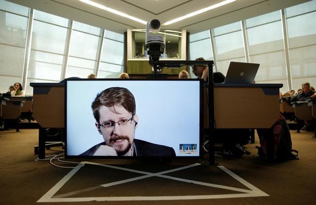 'Les apports du livre de Snowden reviennent à l'Etat américain'