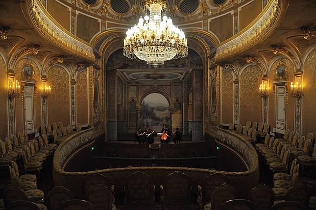 Le théâtre impérial du château de Fontainebleau rouvre après 140 ans dans l'oubli
