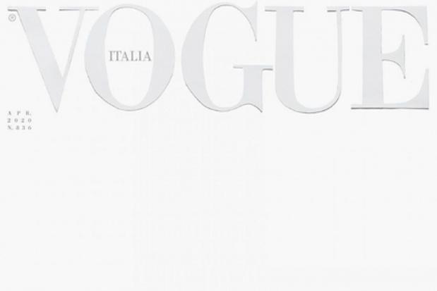 Italiaanse Vogue kiest voor blanco cover