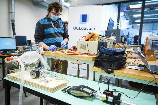 Un prototype de respirateur simplifié testé avec succès à l'UCLouvain