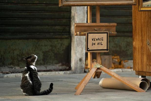 Banksy infiltre, à sa manière, la Biennale de Venise