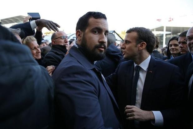 "Benalla n'a ""jamais été protégé par l'Elysée"", assure Macron"