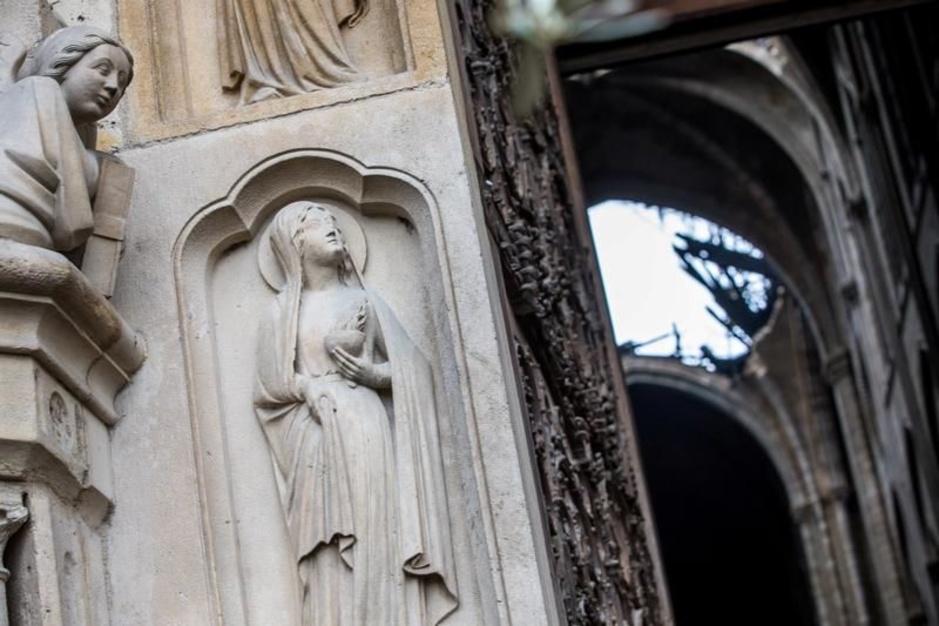 Les images désolantes de l'intérieur de Notre-Dame, après l'incendie dévastateur