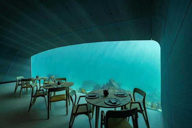 Under, le premier restaurant sous-marin d'Europe