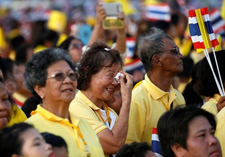De koning is dood, lang leve de koning: de Thaise ceremonies in beeld