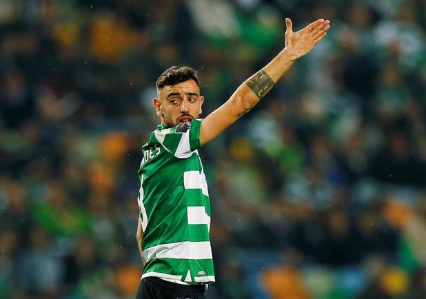 Transfert: accord entre Manchester United et le Sporting pour Bruno Fernandes