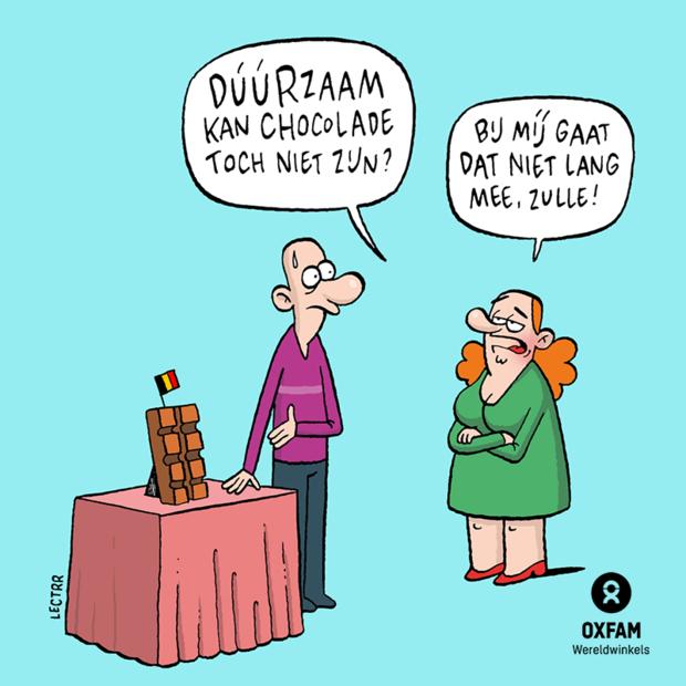 8 illustrators en kunstenaars aan de slag voor faire chocolade