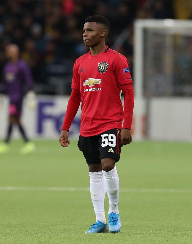 Un jeune belge de 18 ans fait ses débuts avec Manchester United