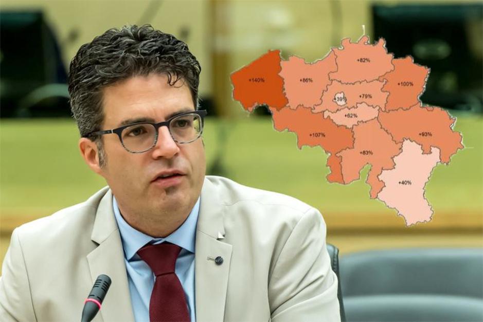 """Steven Van Gucht: """"Epidemie groeit nu het snelst in West-Vlaanderen"""""""