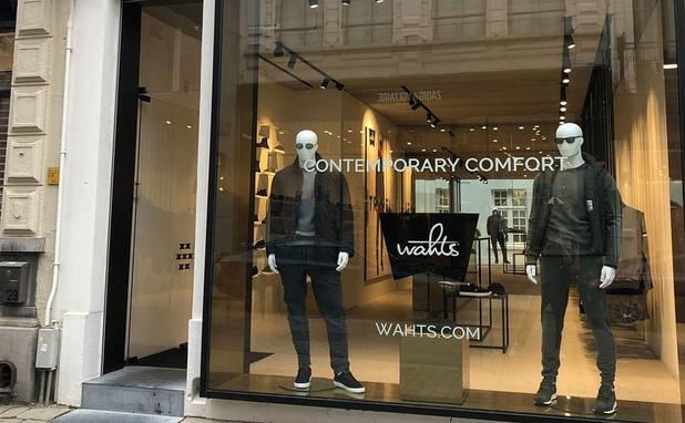 Mannenmodemerk Wahts opent winkel in Antwerpen