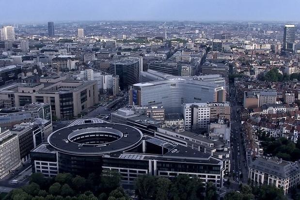 Studie: meer dan miljoen vierkante meter kantoorruimte staat leeg in Brussel