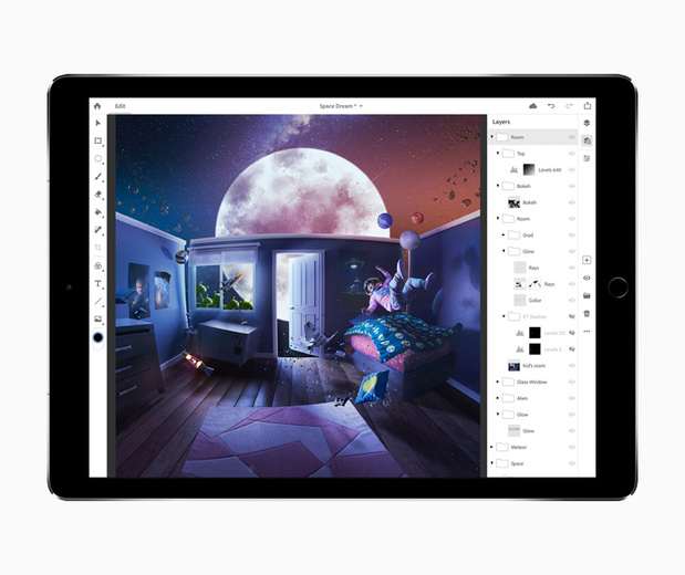 Adobe introduit Photoshop pour l'iPad