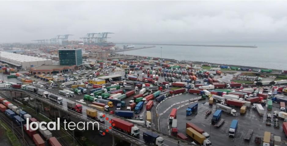 Factcheck: nee, dit filmpje toont geen protest van Italiaanse vrachtwagenchauffeurs