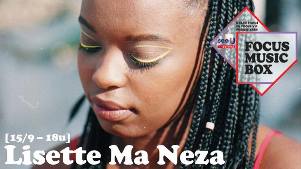 Slamdichter Lisette Ma Neza komt naar Focus Music Box