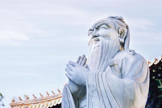 Confucius levert de volgende doelstelling van China