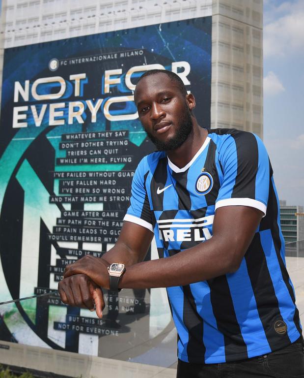 """En images, revivez la première journée de Lukaku à l'Inter: """"J'avais besoin d'un challenge"""""""