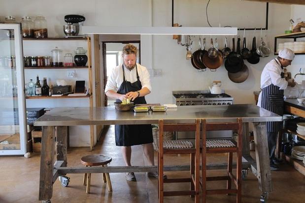 Un chef de Coxyde officiera en Afrique du Sud au Wolfgat, le meilleur restaurant de l'année