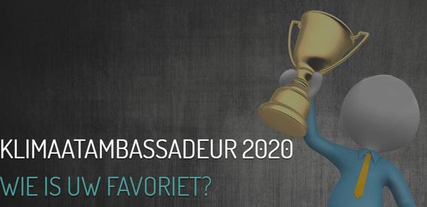 Van der Poorten, Ambassadeur du climat 2020 ?