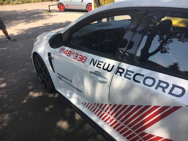 Renault Megane R.S. Trophy-R vestigt nieuw record op Spa-Francorchamps