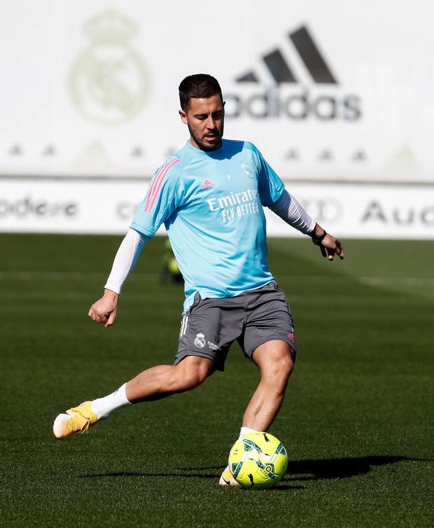 Eden Hazard absent de l'entraînement du Real Madrid