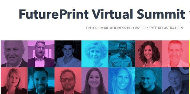 FuturePrint Virtual Summit: meer dan 100 sprekers
